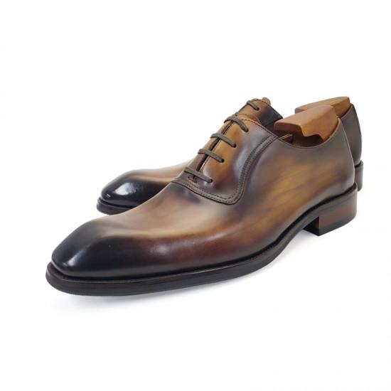 Monet Handmade Leather Plain Toe